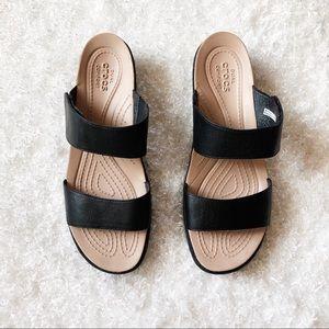 Crocs Sandals Double Strap Size 11